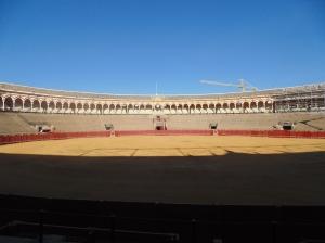 Bull fight arena
