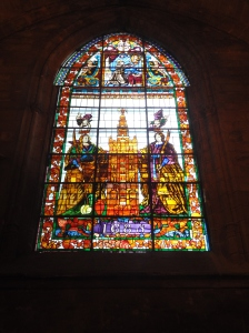 1685 stained glass