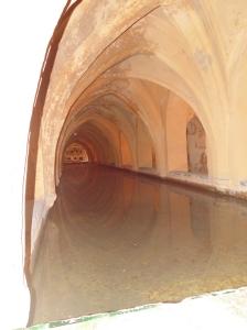 Underground baths